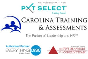 Carolina Training & Assessments with authorized partner logos
